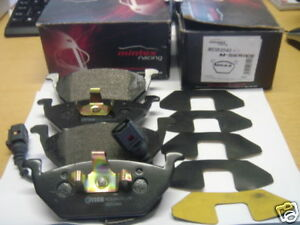 Audi-A2-A3-Seat-Altea-Ibiza-Leon-Mintex-Racing-Delantera-Pastillas-De-Freno-mdb2040-m1144