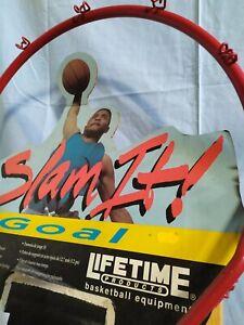 Vintage-1993-Lifetime-Slam-it-Basketball-hoop-5860-Never-used-RARE