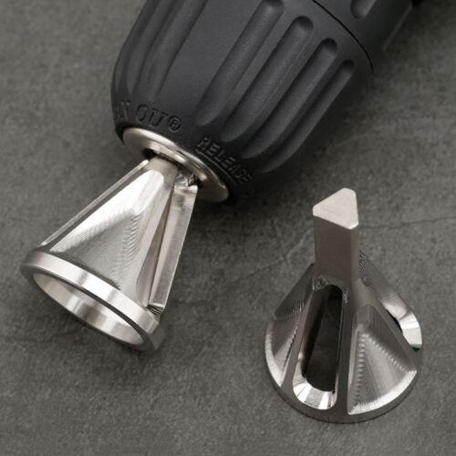 Acier Inoxydable Perceuse électrique Burr Remover ébavurage externe chanfrein Outil