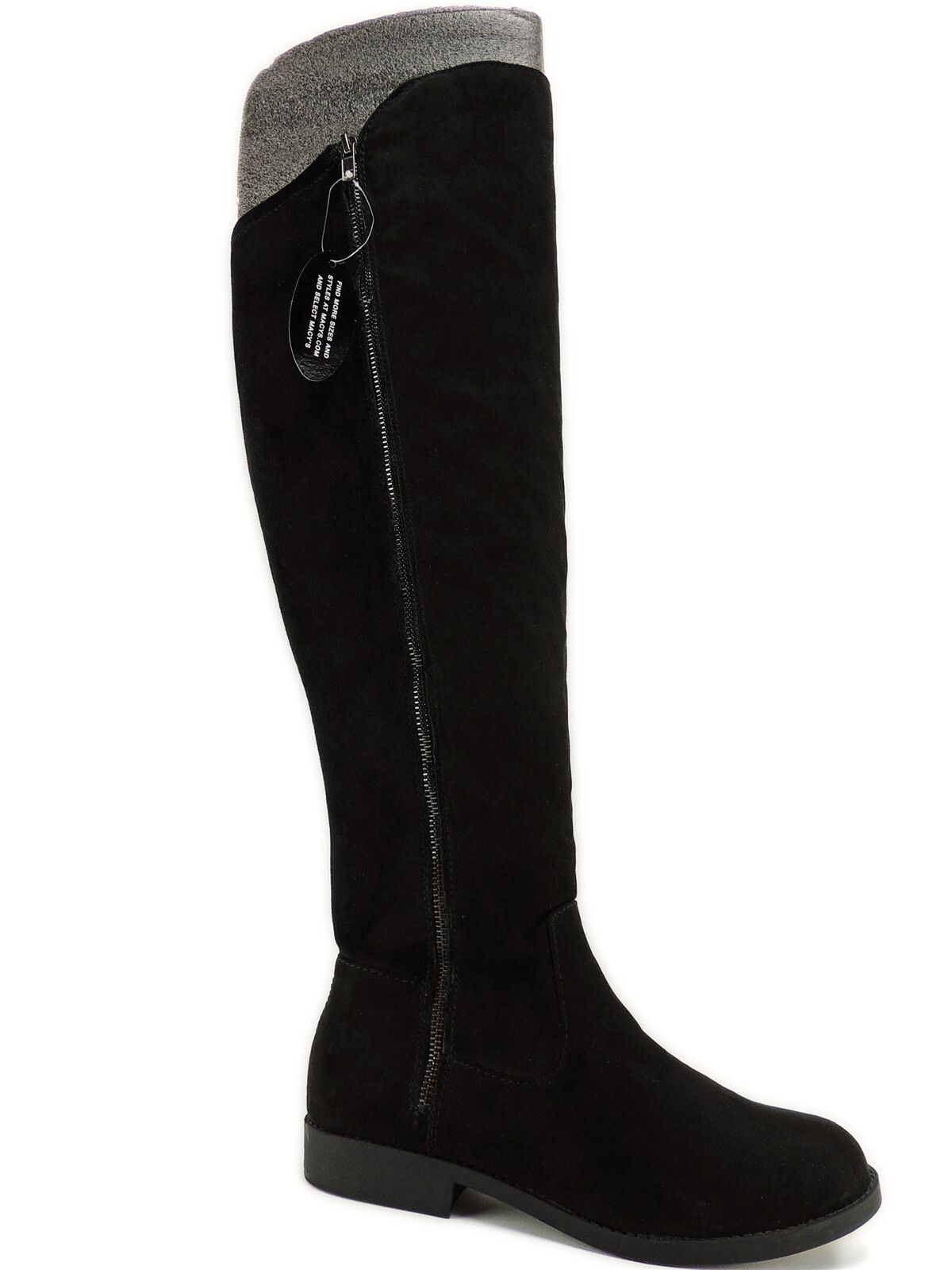 Style&co. Women's Hadleyy Over-the-Knee Boots Black Size 8.5 M