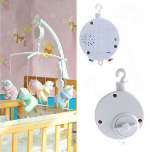 Image Is Loading 12 35 Songs Rotary Baby Mobile Crib Bed