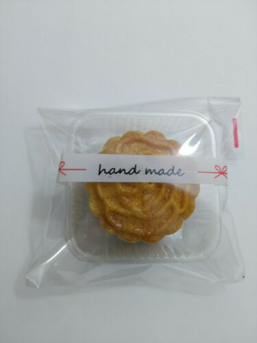 """Self Adhesive Seal Plastic Bag Candy Cookies 4x4/"""" Bakery Jewelry"""