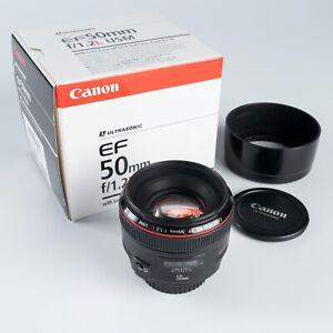 Canon-EF-50mm-f-1-2-L-AF-USM-Lens-Great-Condition