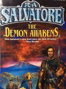R A  SALVATORE THE DEMON AWAKENS SAGA OF THE FIRST KING BOOK 5 HCDJ