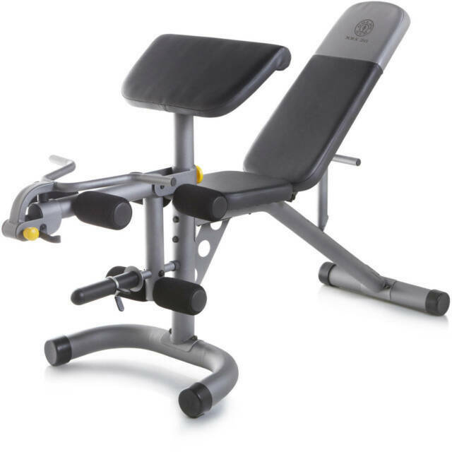 Gold S Gym Xrs20 Olympic Weight Bench For Sale Online Ebay