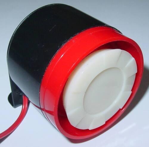 Mini Qualitäts Sirene Alarmanlage Kleinsirene 5-15Vdc Alarmsirene 108dB AS3