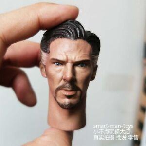 1//12 Avengers Doctor Strange Head Carving Benedict Cumberbatch Head Sculpt Model