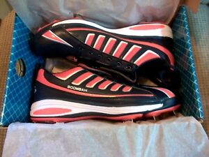 509d8fd97b8 NEW Boombah Metal Cleat Baseball Softball Shoes Mens Size 11 Orange ...
