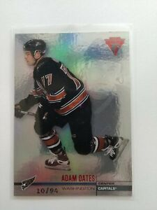 2001-02-Titanium-Hobby-Red-Hockey-Card-144-Adam-Oates-94