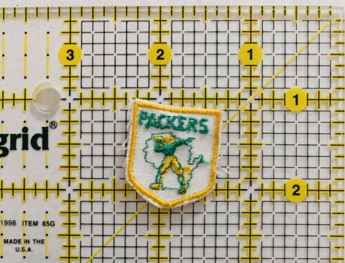 Vintage Green Bay Packers Patch Sew On Football Sports Grid Iron Lambeau NFL