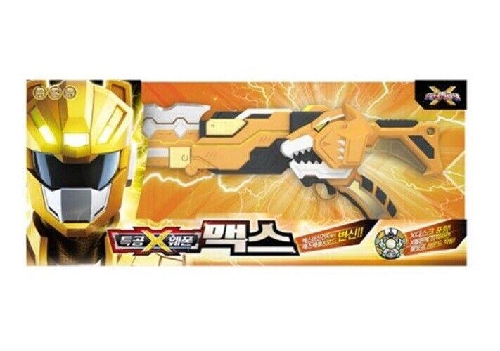 Minikraft X Ranger Vapen MAX Gul Transvapen Leksaker Hobbybarn