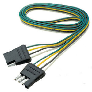 details about 60 inch long flat 4 way boat trailer wiring harness extension Baja Wiring Harness