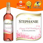 PERSONALISED ROSE WINE BOTTLE LABEL BIRTHDAY ANY OCCASION GIFT