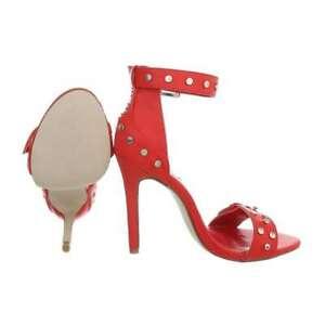 Sandales-rouges-a-bride-talon-tres-haut-11-cms-neuves-sexy-simili-cuir-shoes
