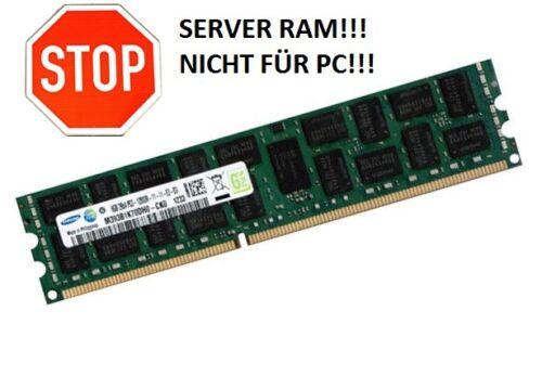 1 von 1 - Samsung / Fujitsu Branded 8GB DIMM DDR3 1333 MHz PC3-10600R CL9 ECC RDIMM RAM