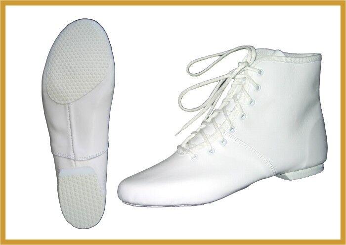 Garde Tanz Mariechen Stiefel IWA Mod. 850   2, Gr. 28 - 46 weiß oder schwarz
