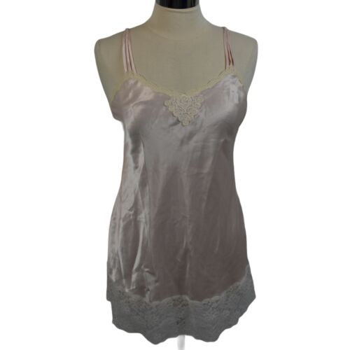 Christian Dior Vintage Nightgown Gown Lingerie Lon