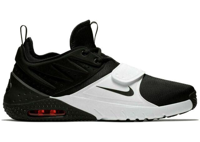 Nike Air Max Trainer 1 Black White Red Shoes AO0835 002 Sz 9, 9.5,10.5,12,13 B8