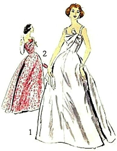 #20 1960/'s CAMELOT EVENING GOWN PATTERN PICK YOUR SIZE DOLLS