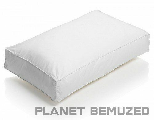 **SPECIAL OFFER** LUXURY EGYPTIAN COTTON BOX WALL SPIRAL FIBRE LIKE DOWN PILLOWS