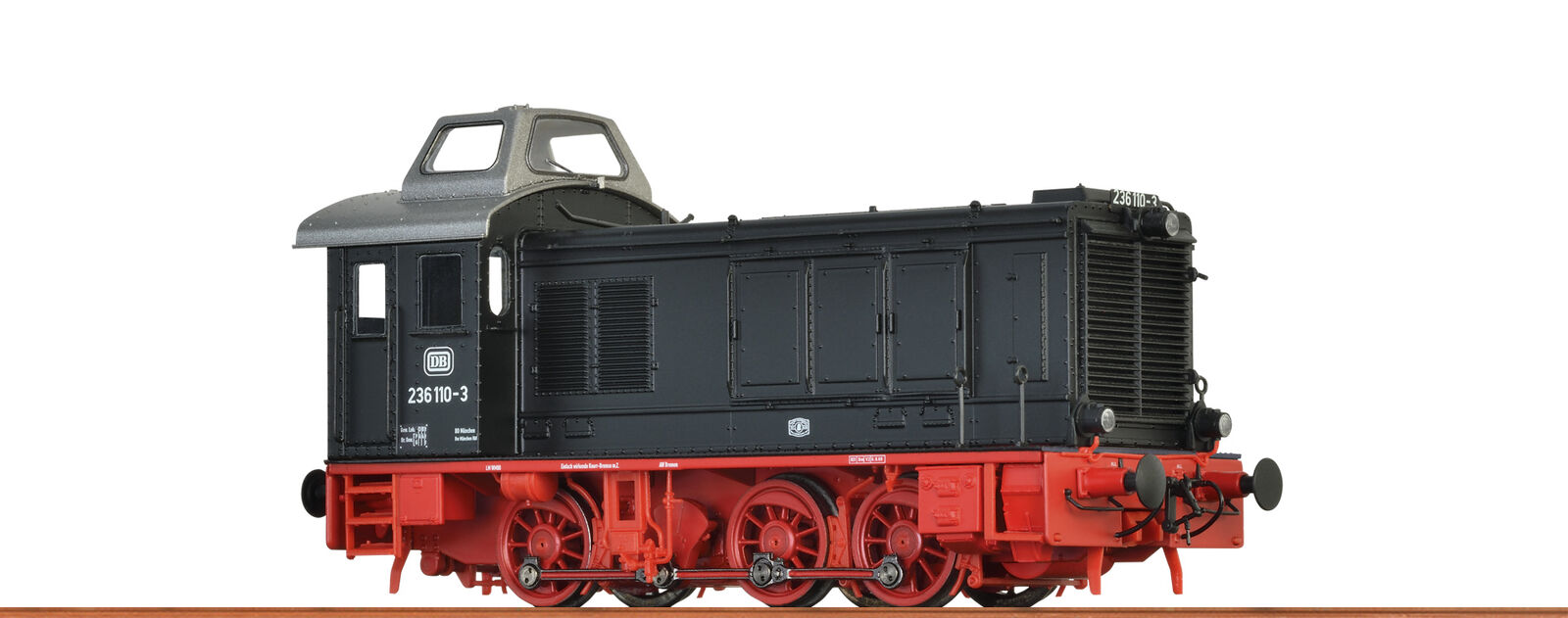 Brawa 41611 Gauge H0 Diesel Locomotive 236 Db, IV, Ac Extra with with Sounds