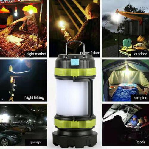 LED Camping Lampe Outdoor Laterne Zeltlampe Campingleuchte Campinglaterne DHL