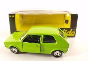 Solido-n-19-VW-Golf-neuf-en-boite-MIB-1-43