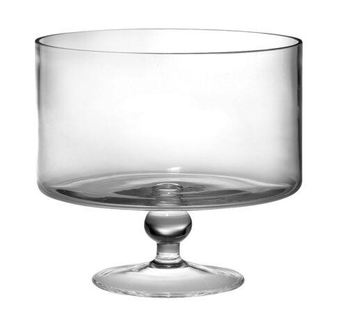 "Barski European Beautiful Hand Made Glass Large Trifle Bowl 170 oz... 9.5/""D"