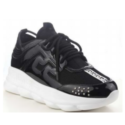 Cape Robbin ATHENA Faux Marble Lace Up Low Top Top Top Super Platform Athleisure Sneaker 085851