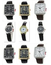 Wholesale 100 Pieces Job Lot of Brand New Ladies & Men's Leather Strap Watches