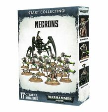 Start Collecting Necrons Warhammer 40k NEW