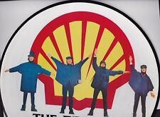 """THE BEATLES """"HELP!"""" PICTURE DISC STEREO LP - HOLLAND IMPORT - E.M.I. GRAMOPHONE"""