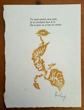 Jean Lurcat Listed Artist Signed Lithograph La Fable du Monde Suite 1959 (HS 3)