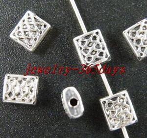 200 Pcs Tibetan Silver Daisy Spacer Beads 8.5 mm FC8251
