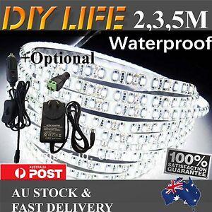 2M-3M-5M-600-LED-Strip-Lights-Cool-Warm-Natural-White-12V-Waterproof-Car-Camping