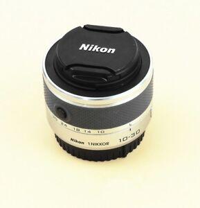 Silber-Nikon-1-NIKKOR-10-30-mm-F-3-5-5-6-VR-Zoom-Objektiv-v1-v2-s1-s2-J1-J2-J3