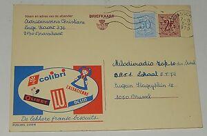Carte-Postale-publicitaire-Biscuits-COLIBRI-LU-BELIN-L-039-ALSACIENNE-OLIBET