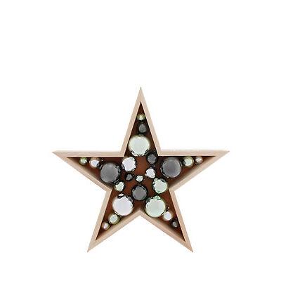 NEW Australian House & Garden Eucalyptus  Wooden Star with Baubles