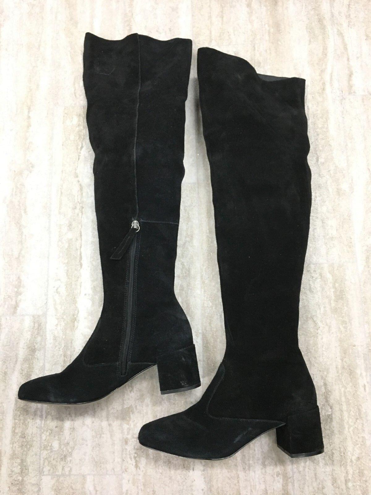 Matisse Reginald Suede Over-the-Knee Boots Size 8