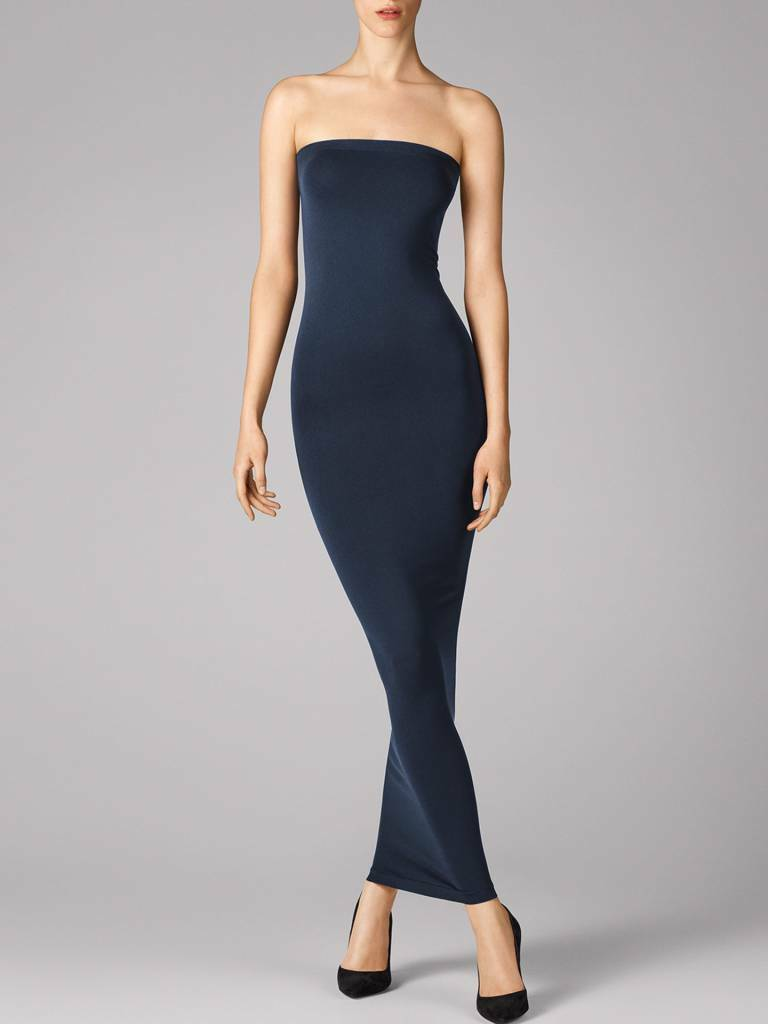 WOLFORD FATAL TUBE DRESS in Midnight, Size XS  Ret  New in Box Tags