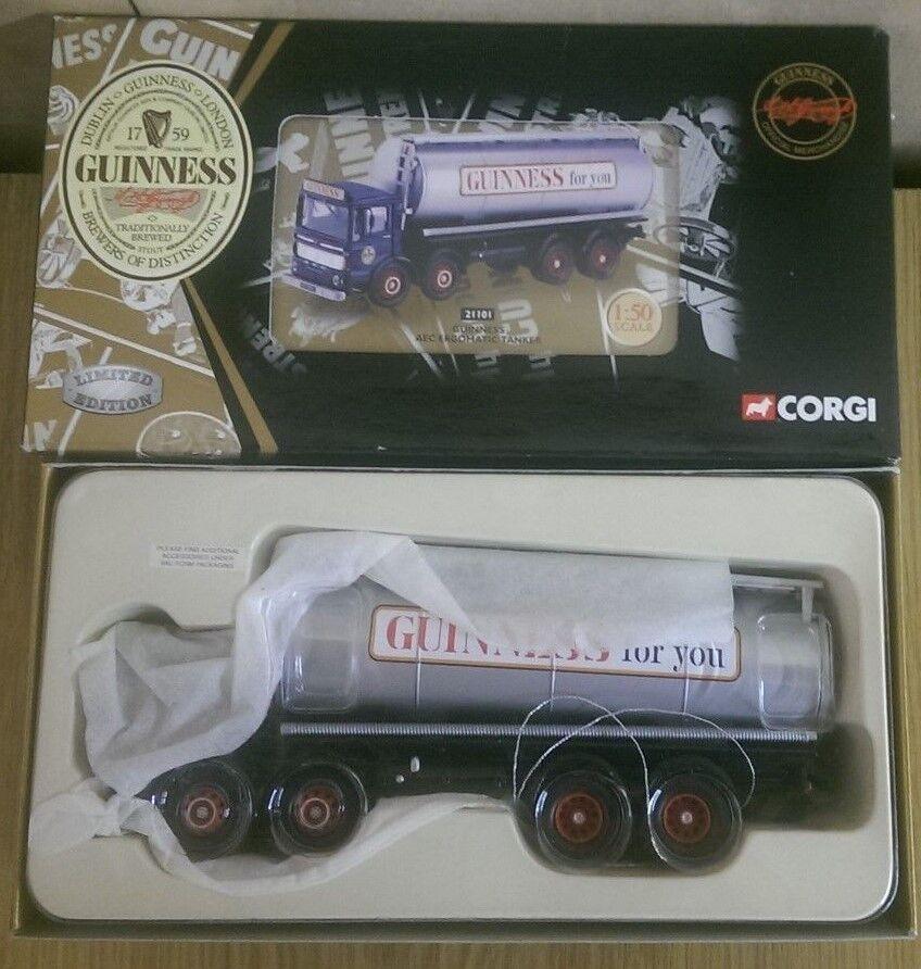 Corgi 21101 AEC Ergonomic Guinness Tanker Ltd Edition No. 0003 of 5800