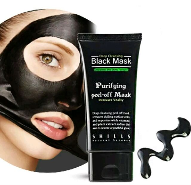 AUS SELLER Face Mask Charcoal Cleansing Cream - Blackheads Peel Off Mask