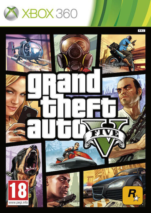 Xbox 360 GTA 5 / Grand Theft Auto V (brand new)