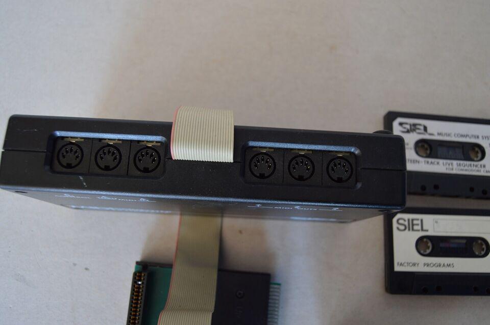 Midi computer interface til Commodore 64, SIEL Udstyr til