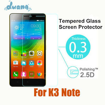 Hot 9H Premium Real Tempered Glass Screen Protector Film for Lenovo K3NOTE A7000