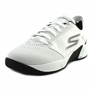 09ba0e0265ec Skechers Men s Torch - Lt White Ankle-High Basketball Shoe 11M ...