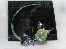 Estate Amanda Smith Purple Man in the MOON with Sparkly Flying Witch HALLOWEEN