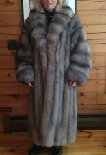 Women's Crystal Fox Fur Coat