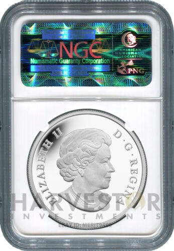 THE GREAT ASCENT NGC PF70 FIRST RELEASES NEW 2015 CANADA SILVER STAR CHARTS