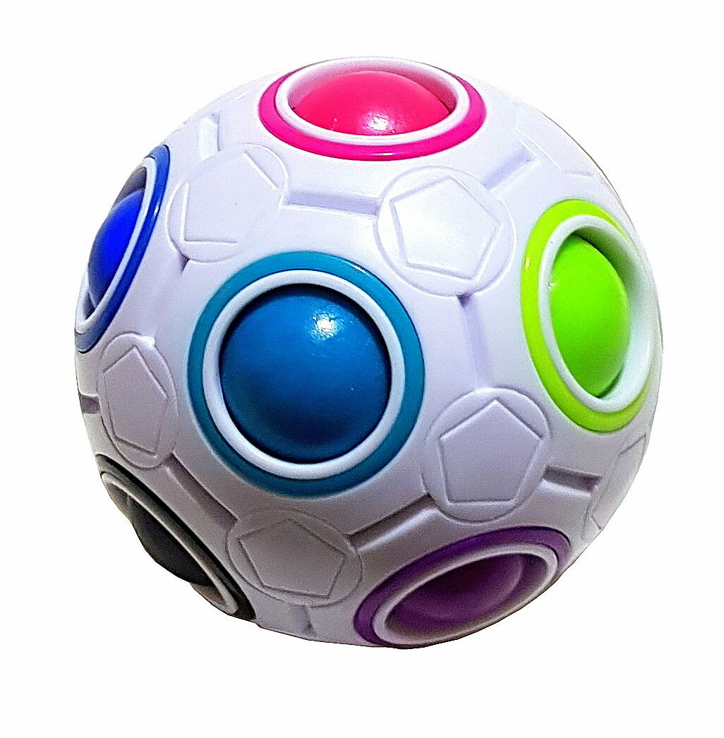Magic Rainbow Ball Football Speed Cube Dice Skilful Patience Trend Toy